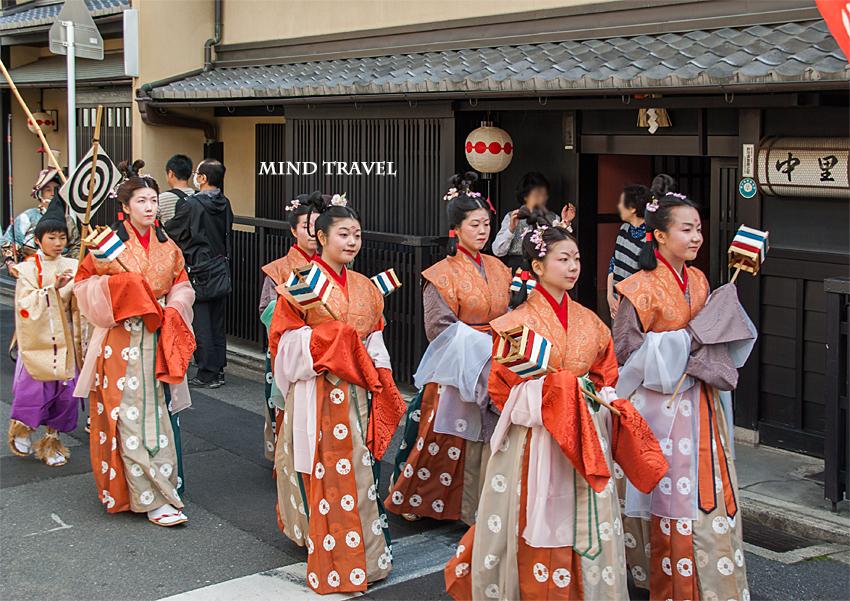 平野神社 桜祭神幸祭 織姫