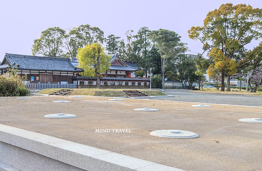 百済寺跡 礎石