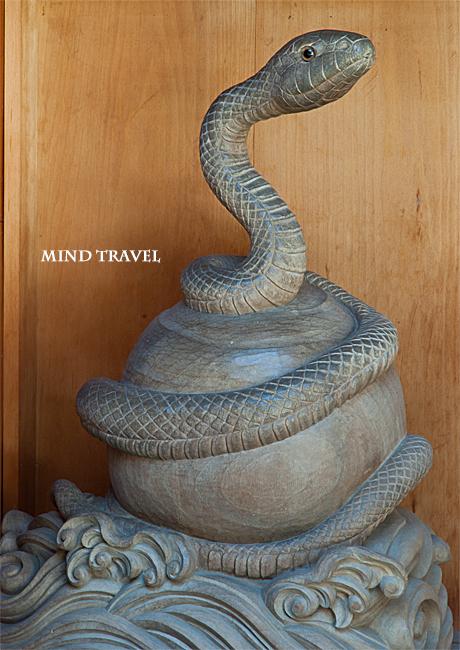 都久夫須麻神社-白蛇