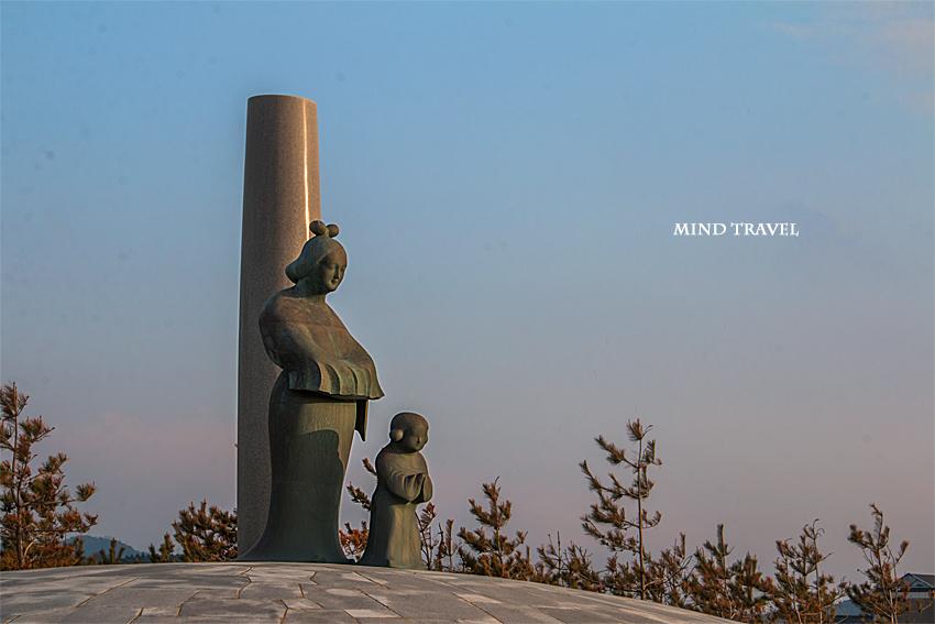 間人 間人皇后と聖徳太子像2