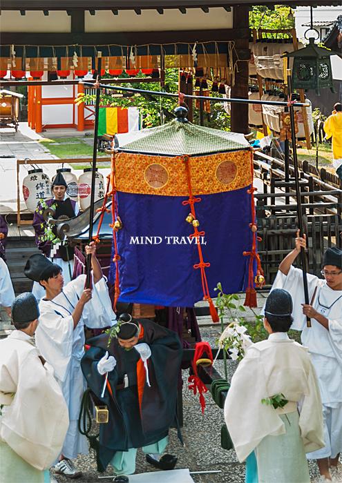 新日吉神社 神幸祭 鳳輦