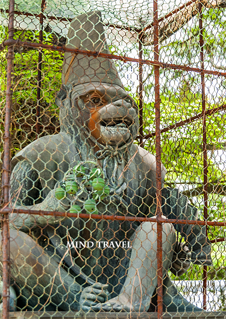 新日吉神社 猿の像