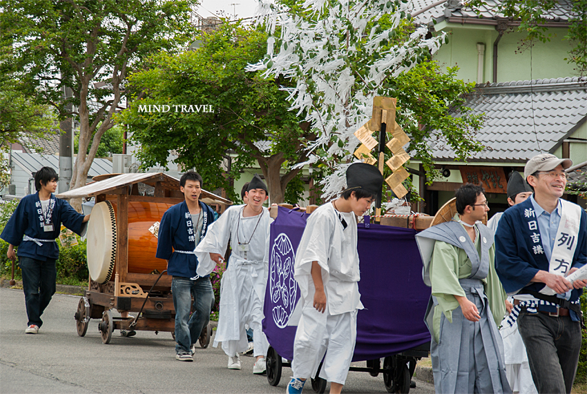 新日吉神社 神幸祭 紙垂