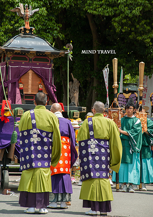 新日吉神社 神輿と鉾