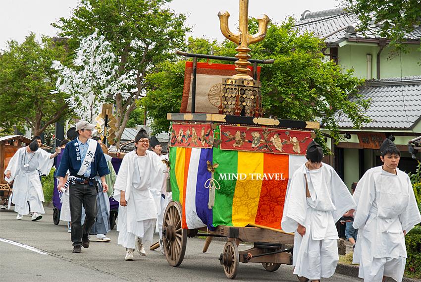 新日吉神社 鉾