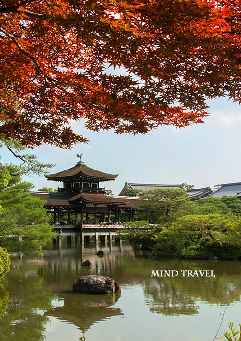 平安神宮 楓
