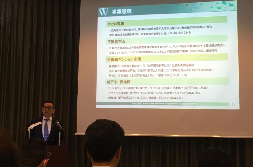20180420和田興産の決算説明会
