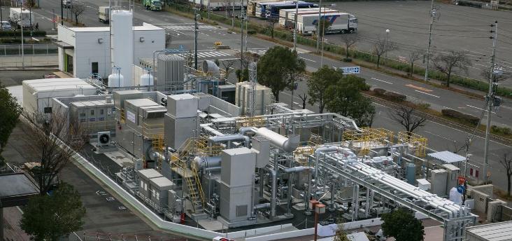 20180420水素熱電併給の発電施設