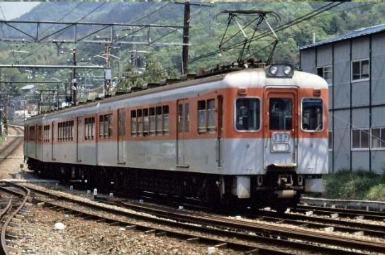 20180620神戸電鉄オレンジ&シルバーグレー