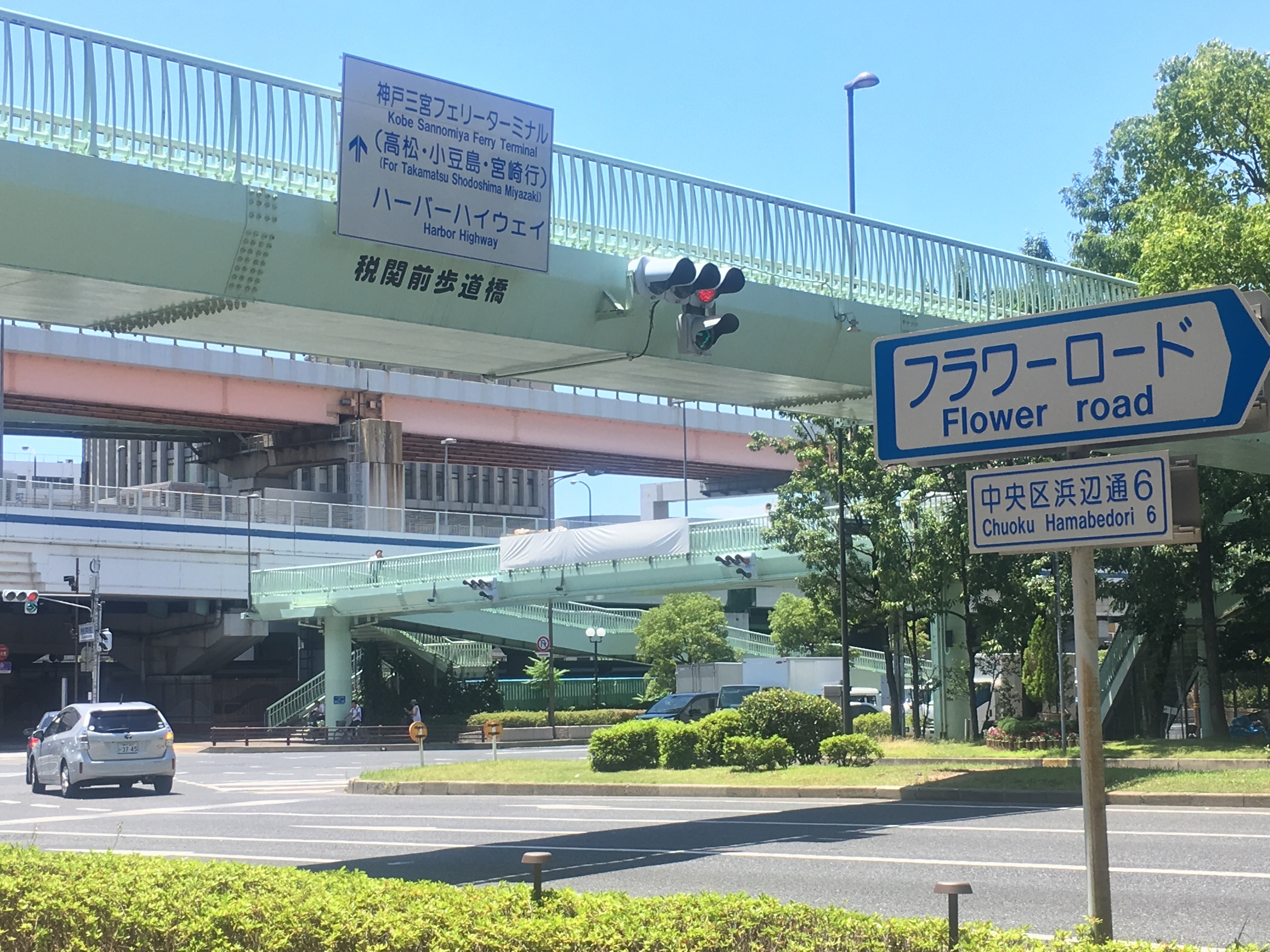 20180702税関前歩道橋
