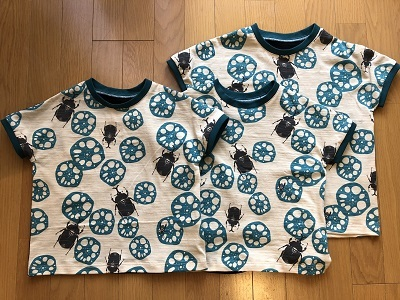 カブトムシTシャツ