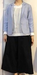 『大きな服を着る小さな服を着る』より ジャケット小