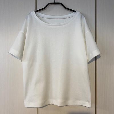 『明日着る服』より ドロップショルダーTシャツ♪
