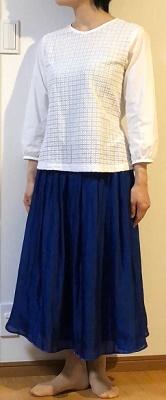 『明日着る服』よりミモレ丈スカート♪