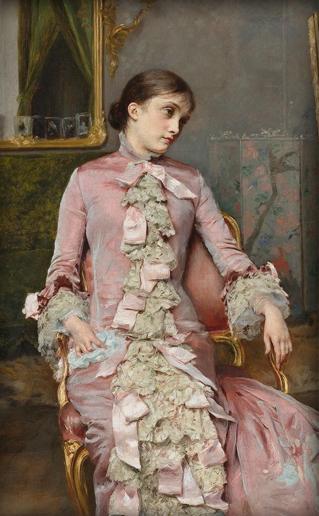 ドレスで選ぶ19世紀西洋絵画 , 原始的幻視鑑賞録