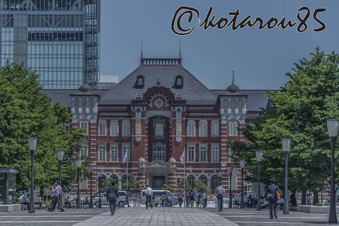 昼下がりの東京駅3 20180516