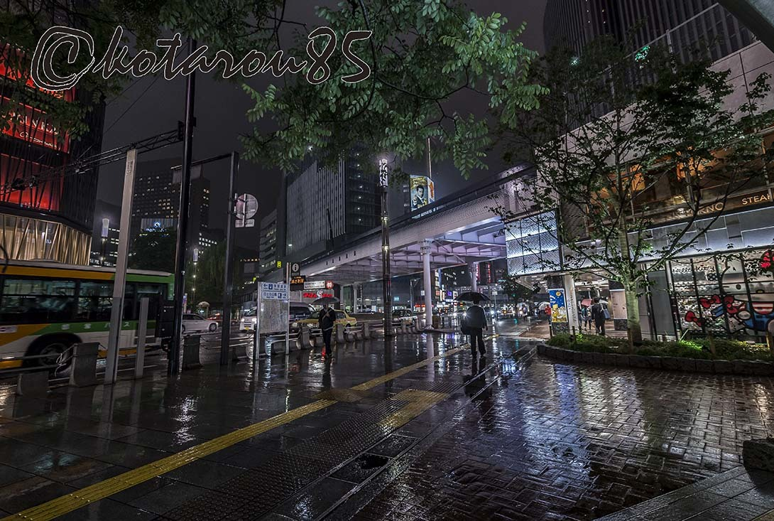 雨の四丁目交差点4 20180524