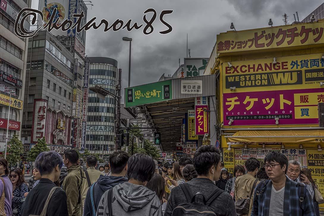 新宿・思い出横丁 20180617