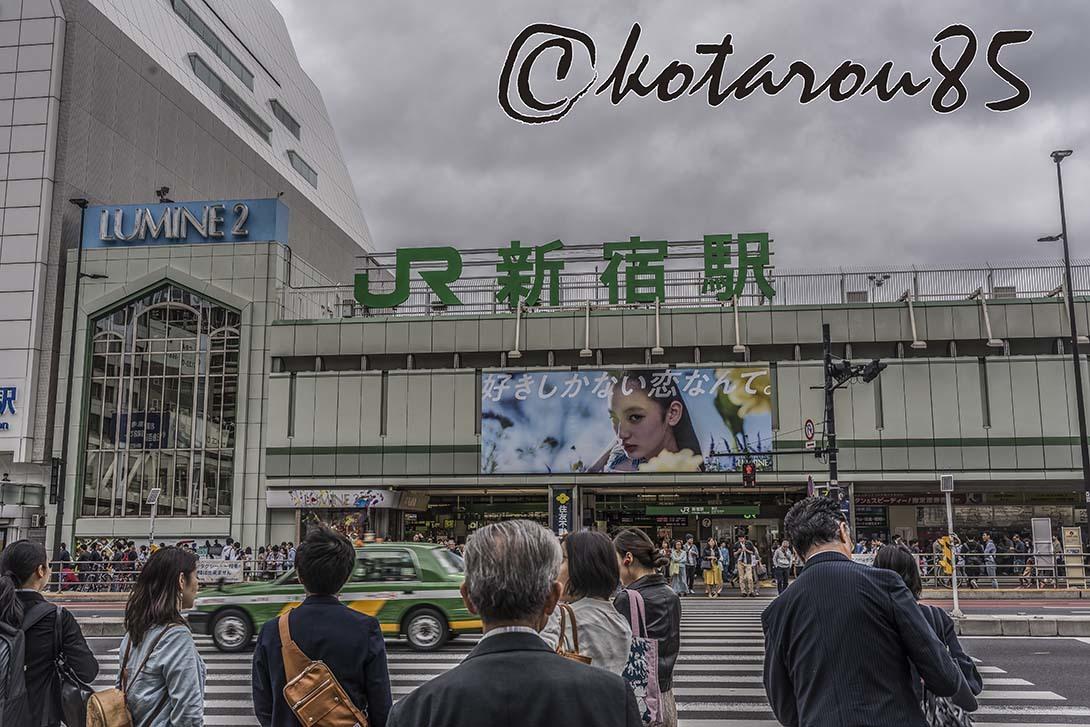 新宿駅前 20180617