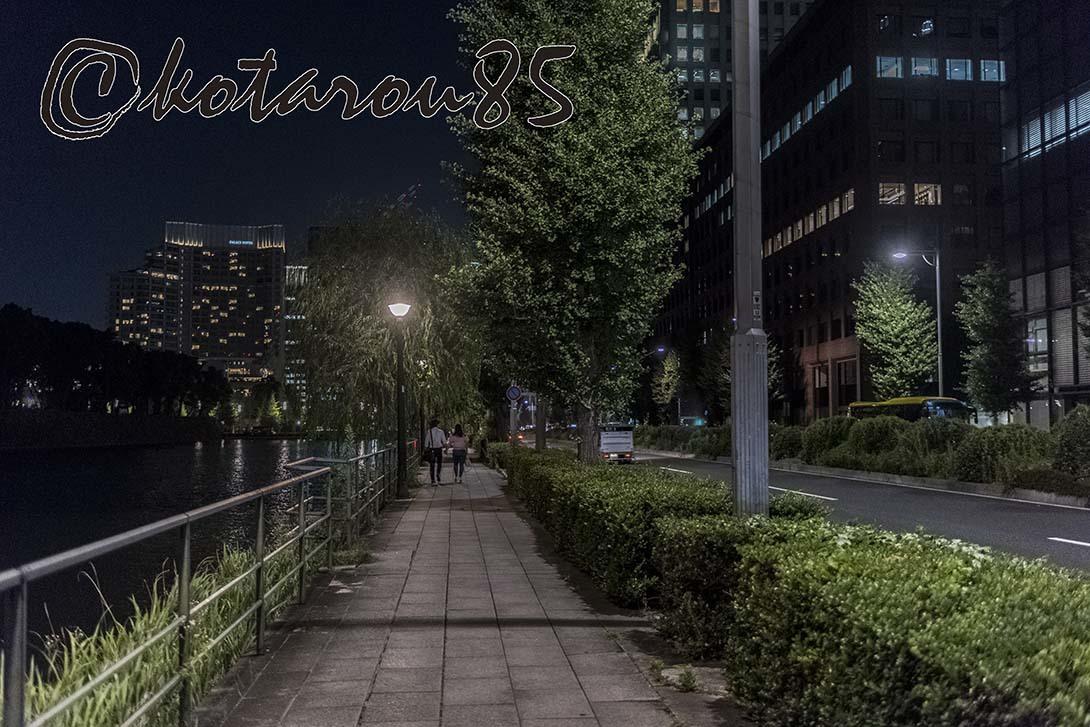 皇居のお堀端・日比谷通り 20180703