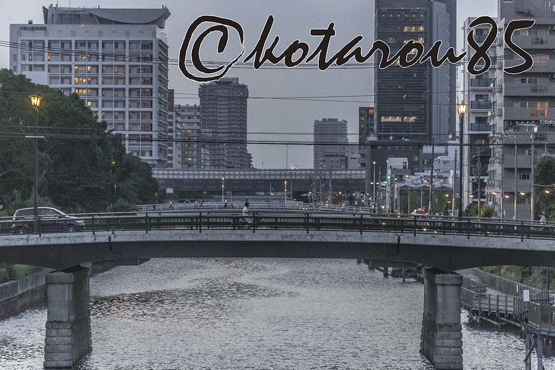 小名木川から見た風景2 20180711