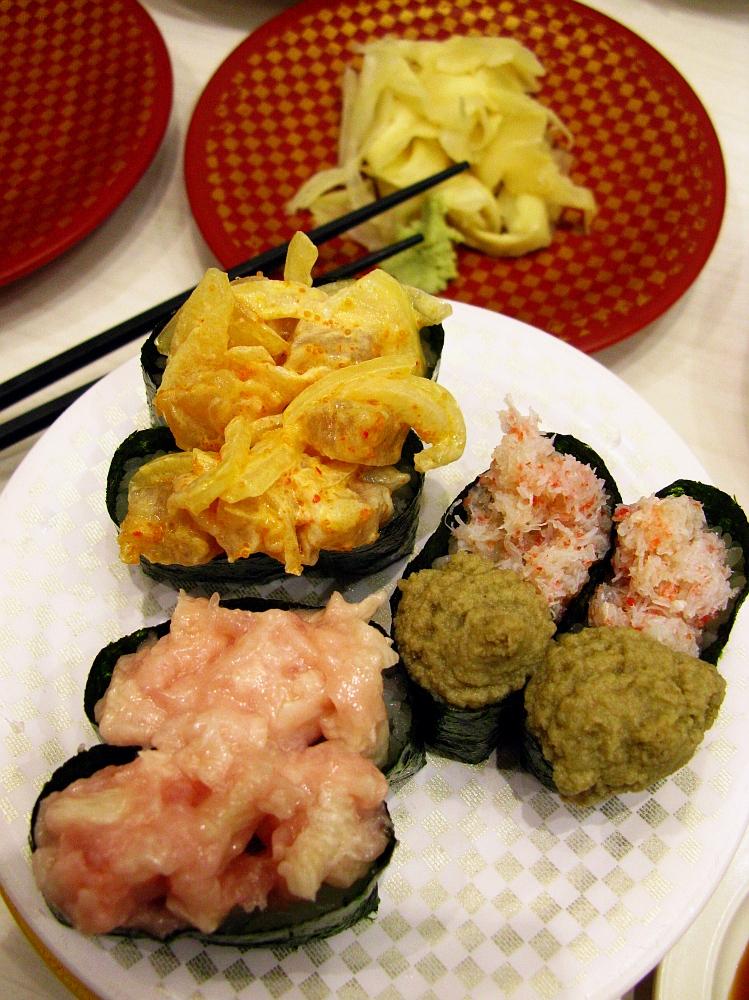 2017_11_09黒川:Genki Sushi 魚べい21