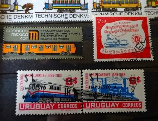 お気に入り電車切手
