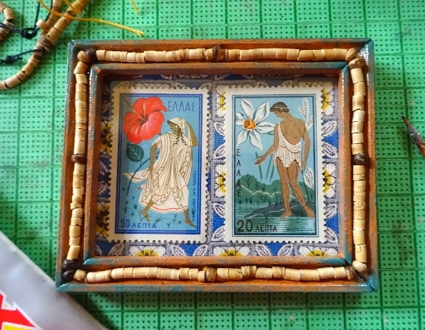 切手フレームギリシャ神話
