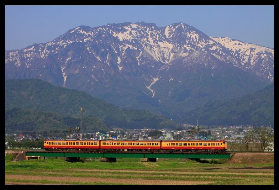 八海山と115系