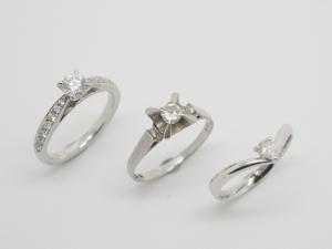 ダイヤのリングBefore1