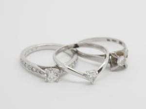 ダイヤのリングBefore2