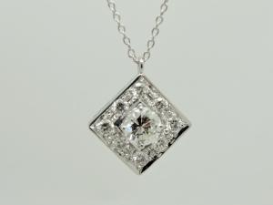 ダイヤのネックレスAfter1