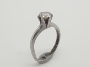 ダイヤのネックレスBefore2