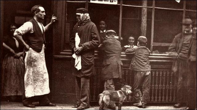 1876年のロンドン
