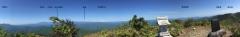 日留賀岳からの展望(インターネットの写真を借用)