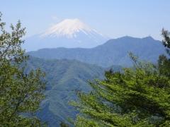 檜平から富士山