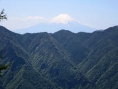 途中より富士山