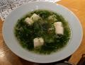 新海苔のあんかけ豆腐