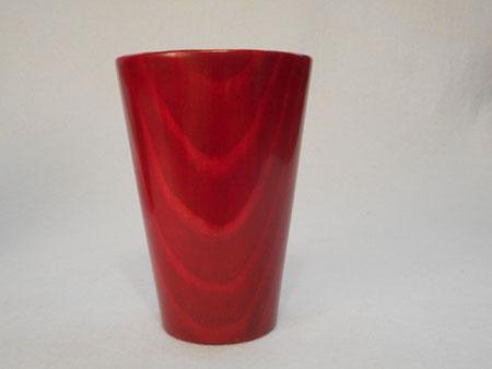 松のフリーカップ(赤)1