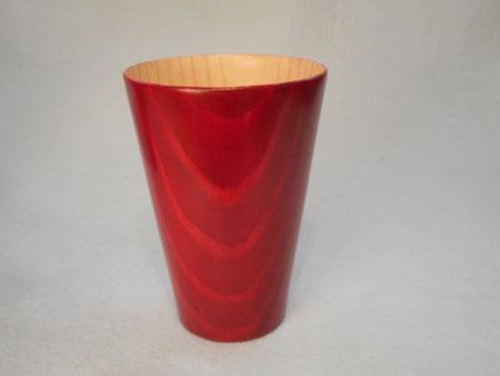 松のフリーカップ)赤)