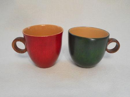 栃のコーヒーカップ(丸)