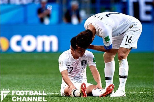 韓国vsスウェーデン戦試合後