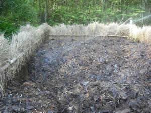 180429第4堆肥切返し
