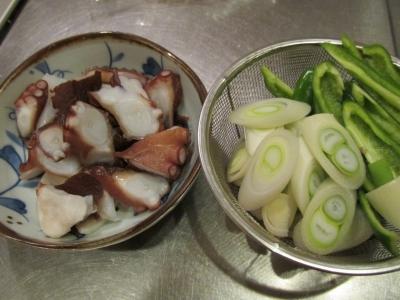 タコと野菜2
