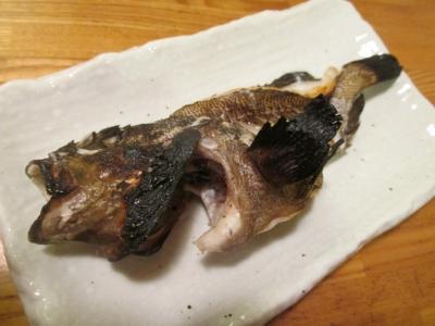 ムラソイの塩焼き1