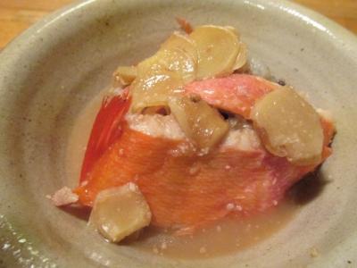 キンメの味噌煮2