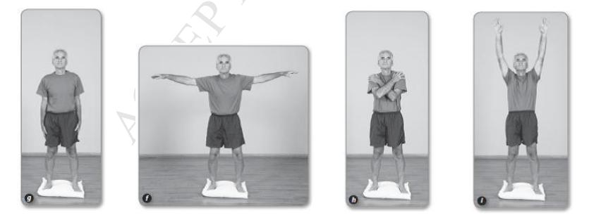 バランス体操