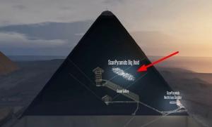 クフ王ピラミッド空間