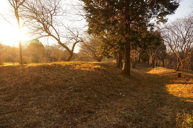 13 子子舞塚古墳跡 北側括れ部跡附近