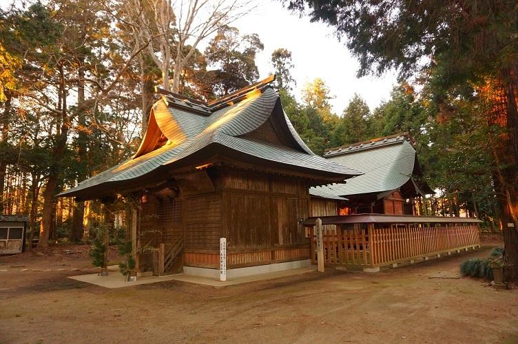 02 大生神社社殿